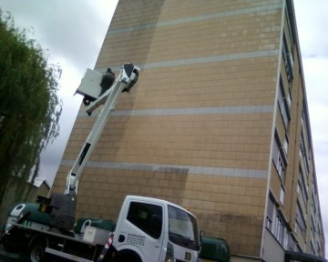 nettoyage facade, traitement facade, nettoyant dégraissant